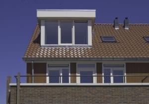 kunststof dakkapel klein