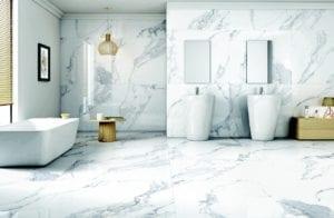 marmer badkamer