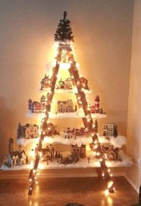 kerstboom trap