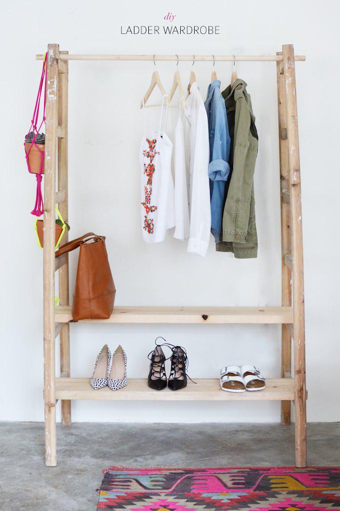 inloopkast ladder