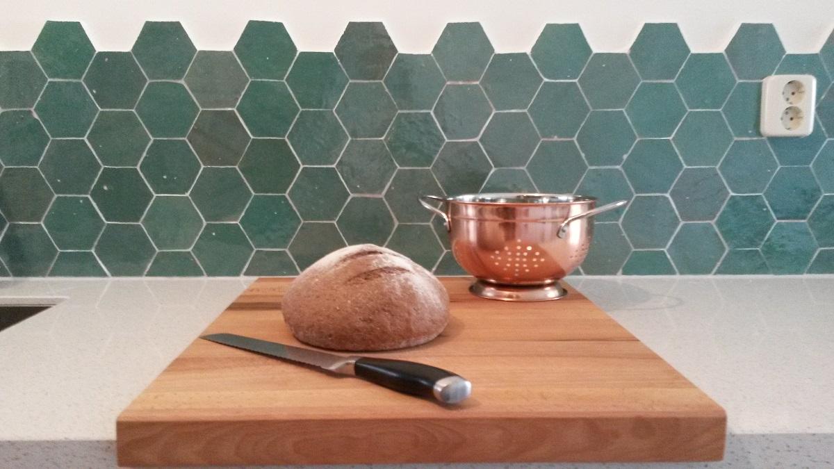 Zellige tegels keuken