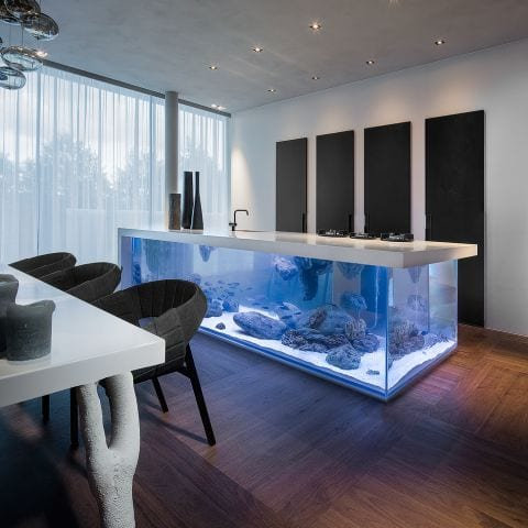 aquarium keuken