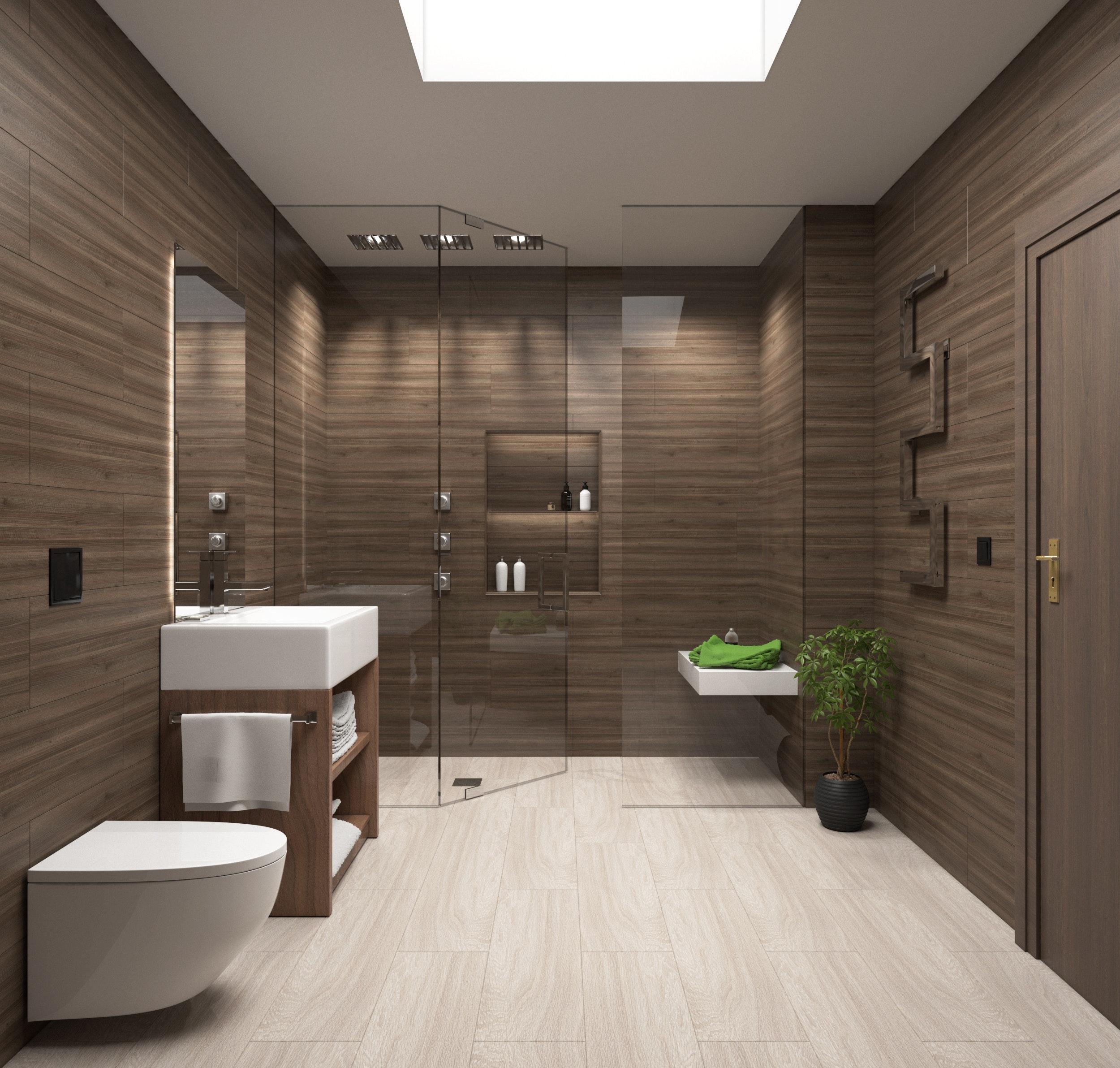 badkamer trends groen