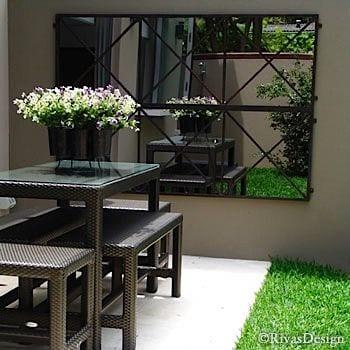 Waarom een spiegel niet mag ontbreken in je tuin homedeal - Landscape spiegel ...