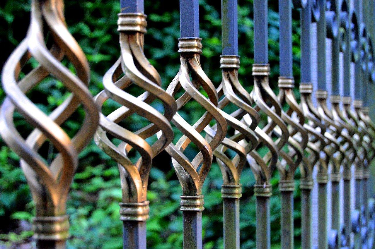 metalen hekwerk