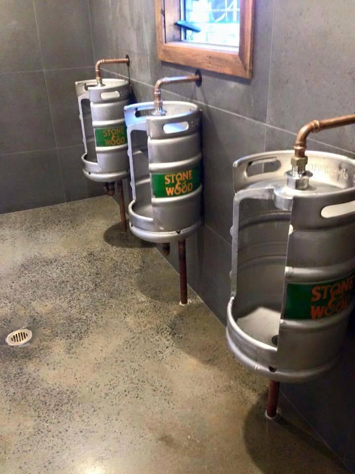 urinoir van fust bier