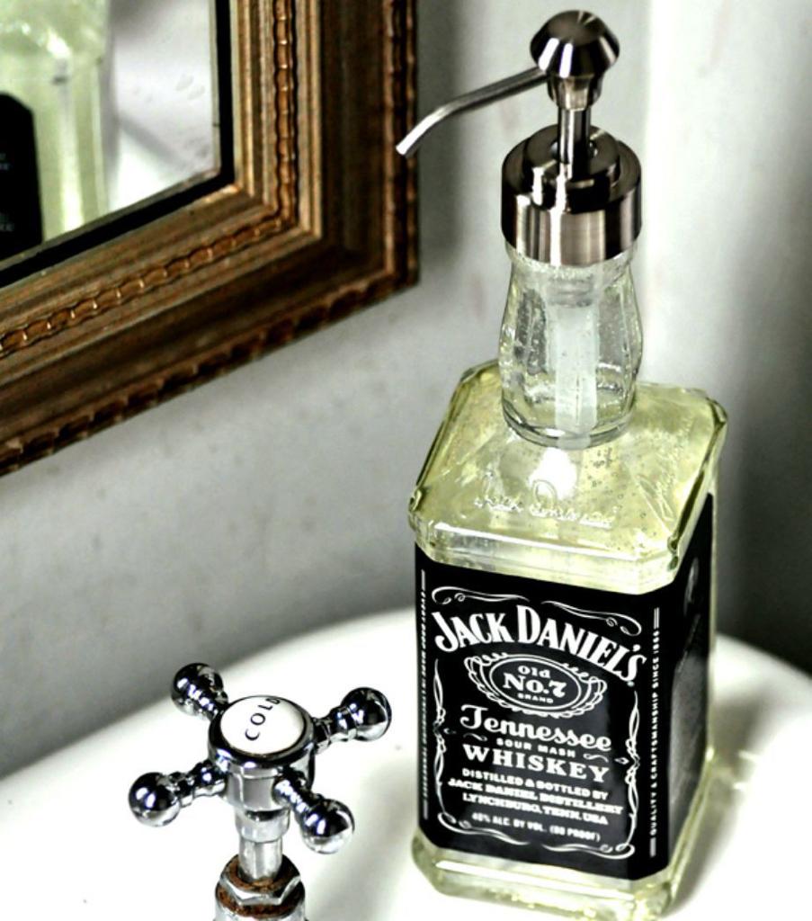 Jack Daniels zeepfles
