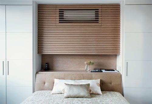 HomeDeal biedt tips hoe jij je airco verwerkt in het interieur: in een kast boven je bed