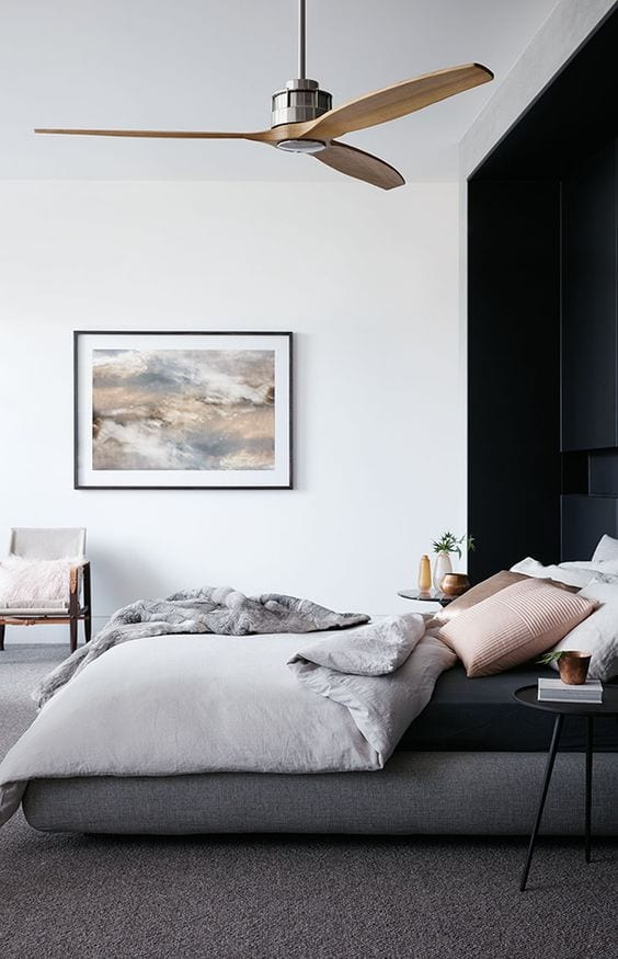 HomeDeal biedt tips hoe jij je airco verwerkt in het interieur: een ventilator levert een mooi plaatje op