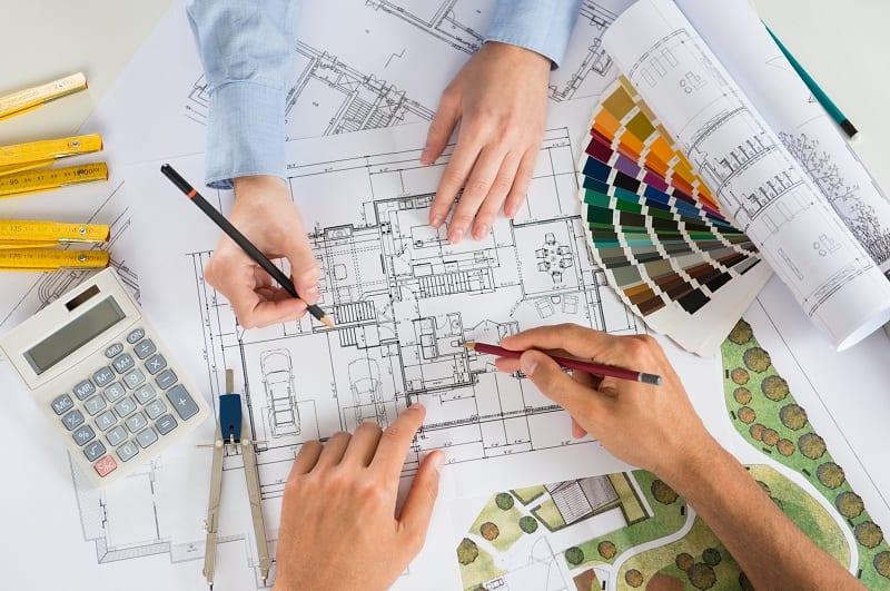 Binnenhuisarchitect kosten