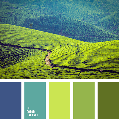 oosten groen blauw