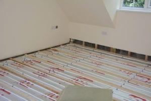 vloerverwarming aanleggen