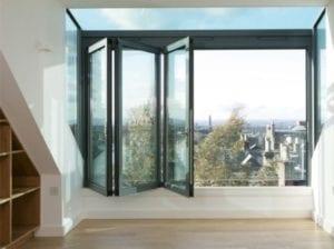 Glazen balkon dakkapel