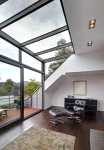 glazen dakkapel