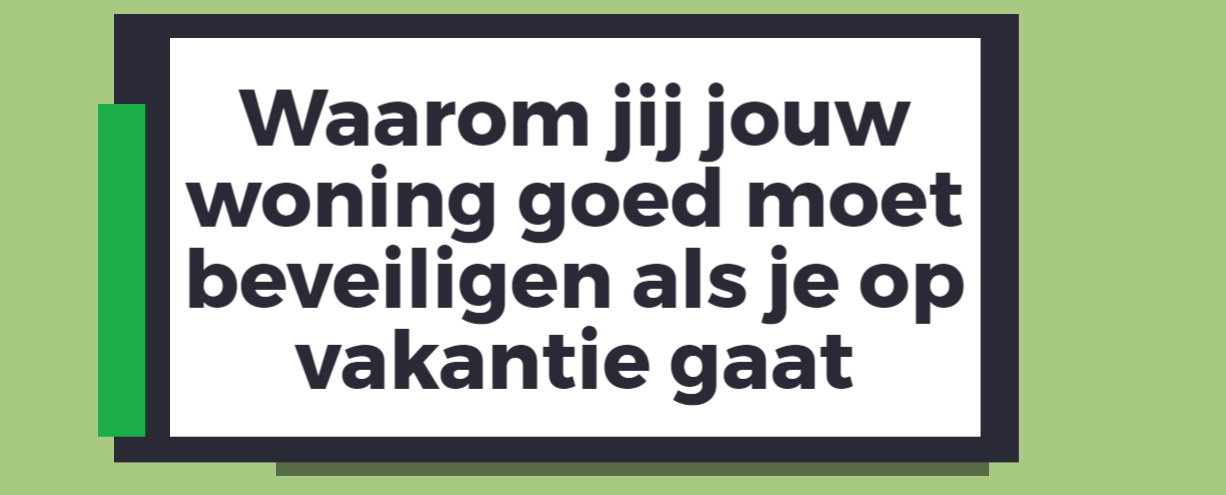 Inbraken nederland
