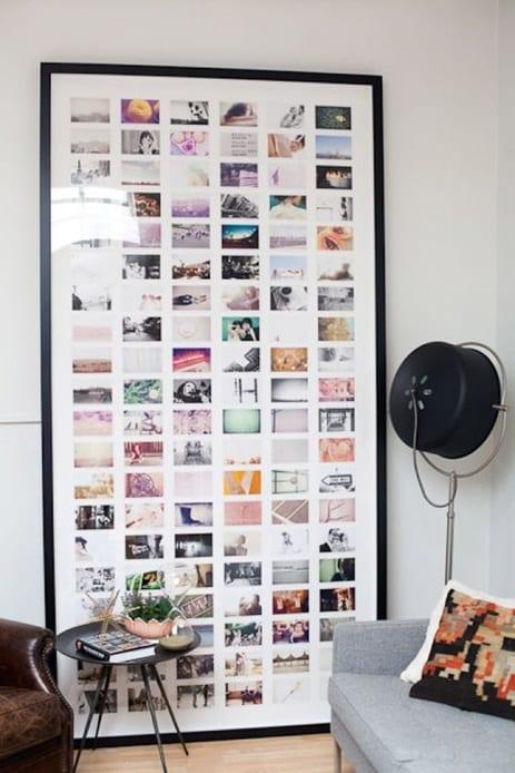 Fotocollage reislustig interieur