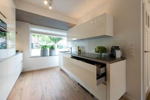 Keukentrends brede keukenlades