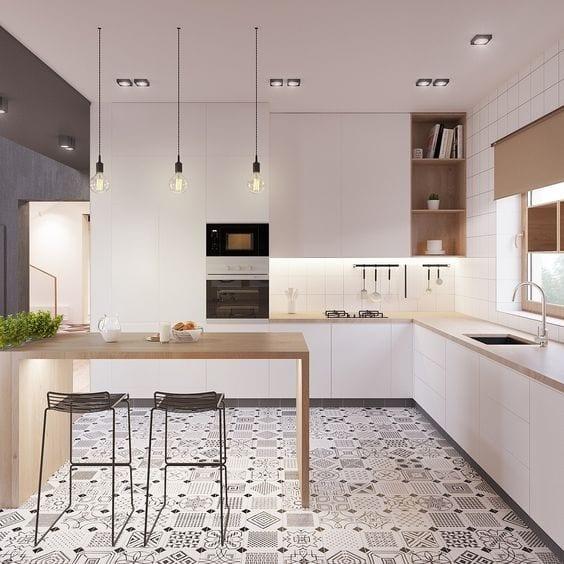 Keukentrends greeploze keuken wit