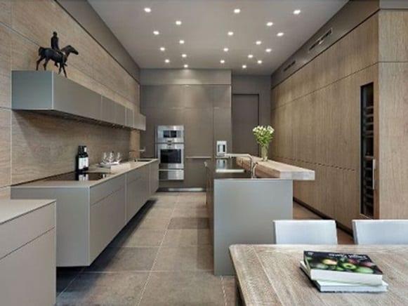 Keukentrends zwevende keukenkast