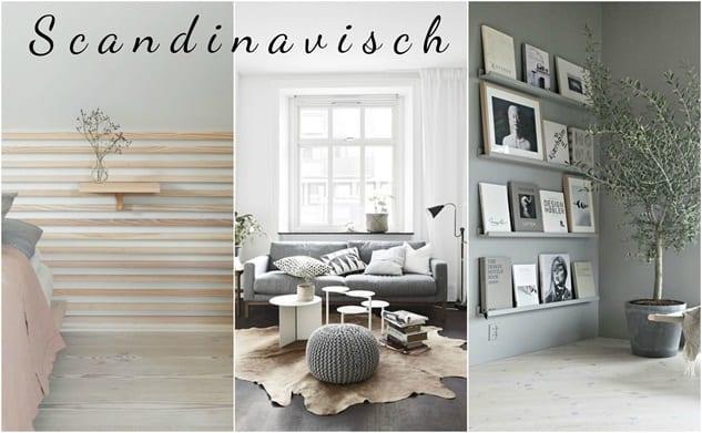 Scandinavisch reislustig interieur