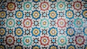 Tegels, Marokkaanse tegels