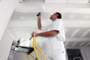 Huisschilder plafond schilderen
