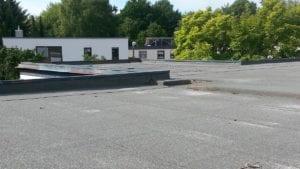 Dakleer vervangen plat dak