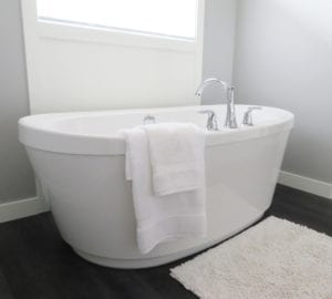 Badkamer wit schilderen