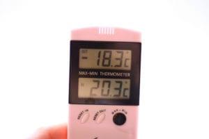 CV-ketel temperatuur