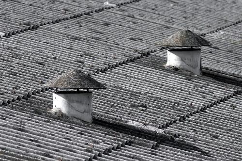 Asbest golfplaten verwijderen