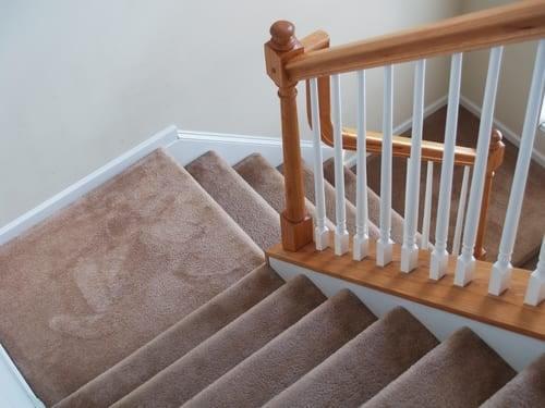 Inspirerende voorbeelden met tretford tapijt op de trap