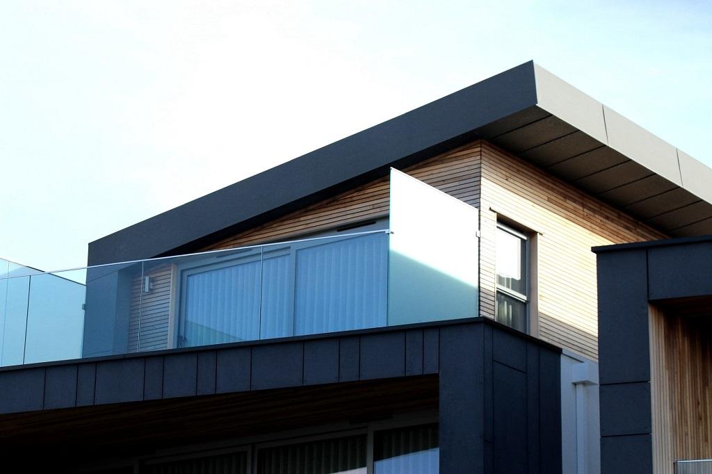 Tuinafscheiding balkon