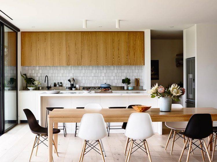 Plafond spuiten keuken